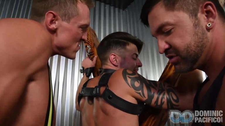 Bareback Bondage Breeders Casey Everett, Pierce Paris & Dominic Pacifico