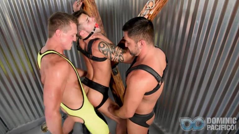 Bareback Bondage Breeders Casey Everett, Pierce Paris & Dominic Pacifico