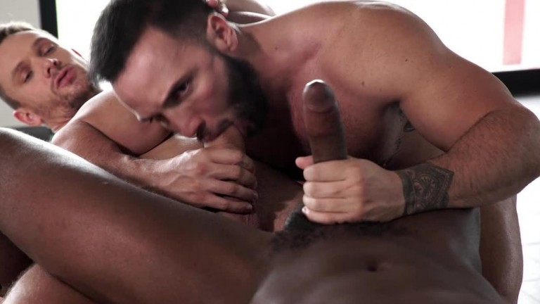 Donato Reyes' Bareback Premiere with Andre Donovan & Andrey Vic
