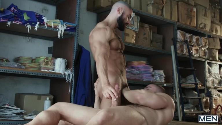 Diego Reyes e Francois Sagat