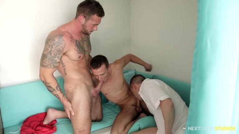 Logan Cross, Steve Rogers & Cameron Dalile