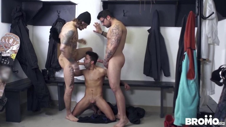 Winter XXX Games Part #3 Alex Neveo, Bo Sinn & Ryan Bones