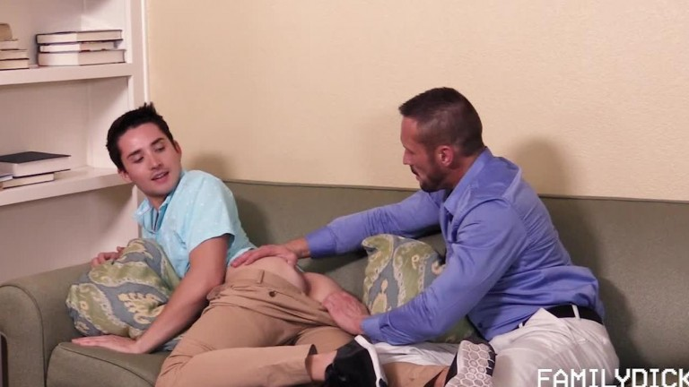 Family Dick Mr Byers and His Boy, Chapter Six (Popping His Cherry) Myles Landon & Liam Aries