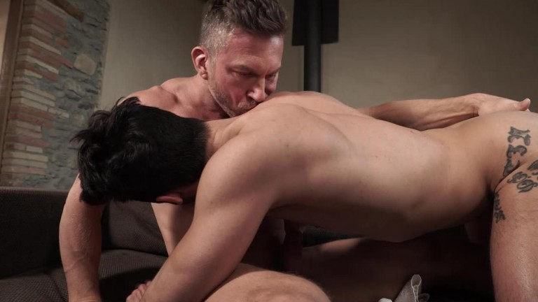 Aaden Stark Rides Tomas Brand's Raw Uncut Cock