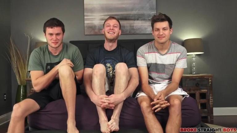 Chris Taylor, Benjamin Dover & Damien Nichols