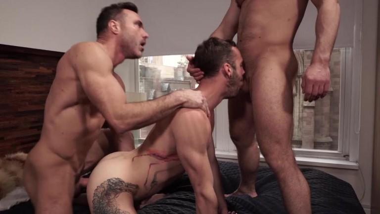 Manuel Skye, Blaze Austin, Drake Rogers   Daddy And His Boys