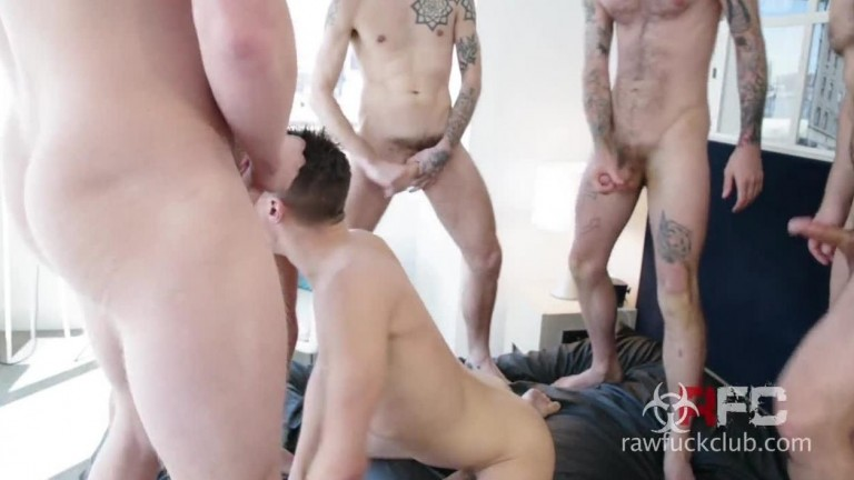 Dakota Wolfe Gang Bang, Part 1