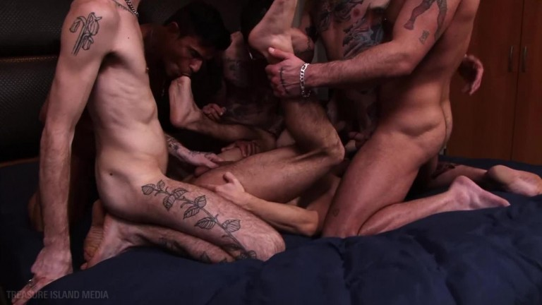 Ty Mitchell Gangbang - Boy Banks, Sam Bridle, Rafael Carreras, Luke Halding, K'oz