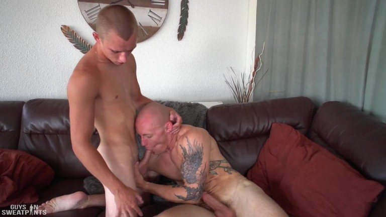 Theo's welcome fuck (Theo Brady, Trevor Laster