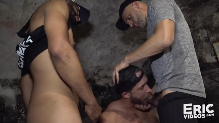 EricVideos - Logan gets plowed by Tahar and Aldo