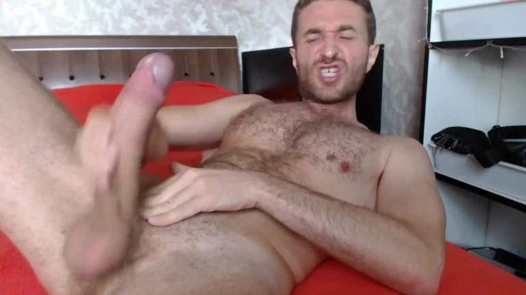 Huge dick nice and handsome chaturbate model cumshow