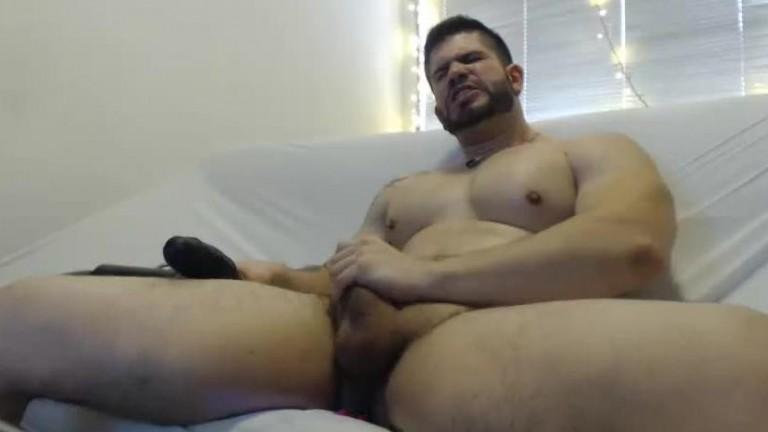 Gostoso e safado show na webcam 2