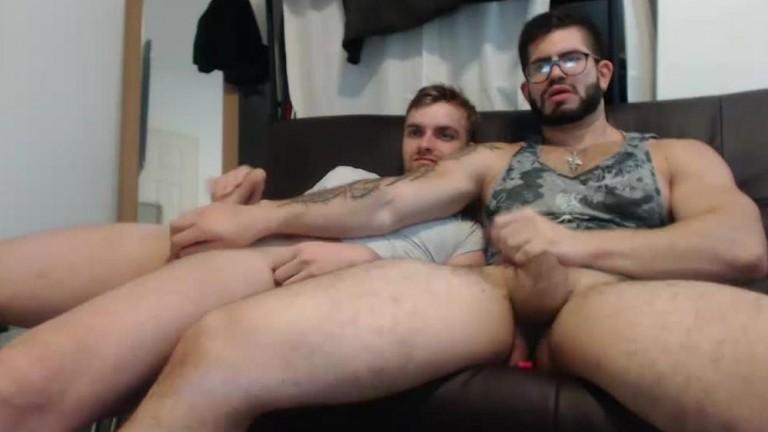 Gostoso e safado show na webcam 4