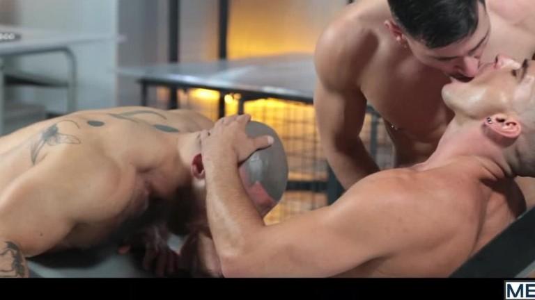 Anal Abduction - Francois Sagat, Lukas Daken & Paddy O'Brian