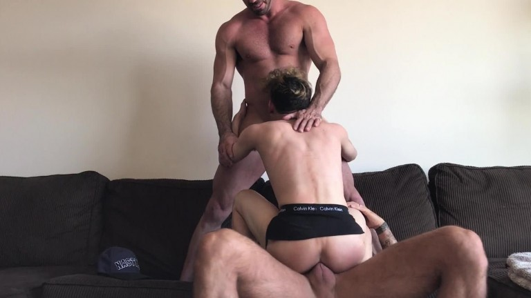 Michael Roman - Me and Billy Santoro destroy a DC twink