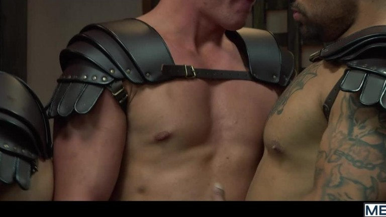 Sacred Band Of Thebes, Part 4 - D.O., Diego Sans, Francois Sagat, JJ Knight, Ryan Bones & William Seed