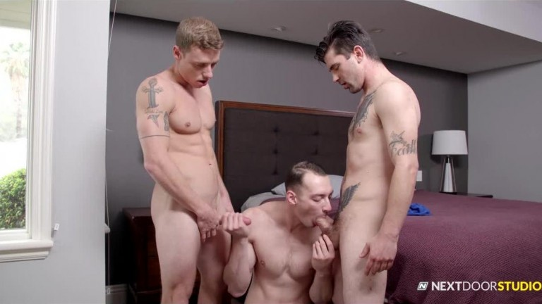 Next Door Buddies Bully Brothers James Sinner, Johnny B & Justin Matthews