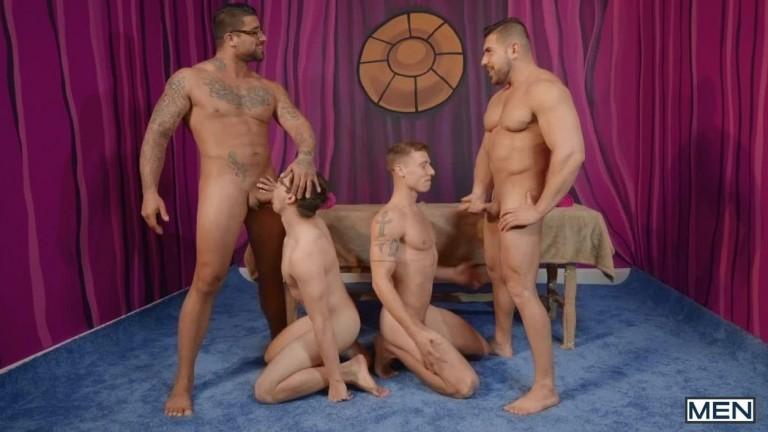 Men Bang, Part 4 - Ryan Bones, Will Braun, Justin Matthews, Damien Stone