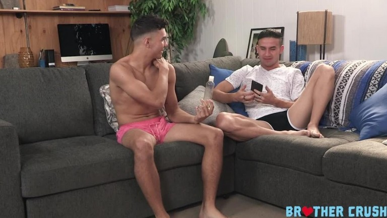 Brother Crush - The Rub Down - Alex Rim and Vinny Blackwood