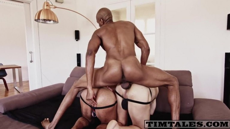 Rhyheim's 3some featuring Jay Michaels and Jonathan Miranda