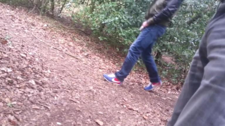 Pegacao no parque