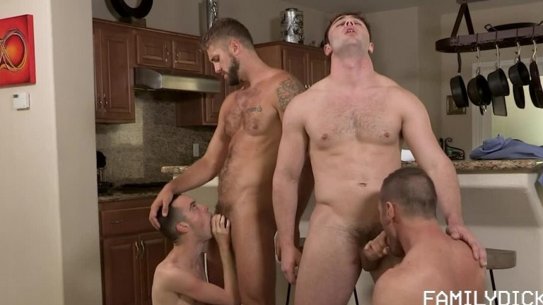 Please Mr Postman Ch. 6 - Where's My Package - Joe Ex, Michael Boston, Myles Landon and Wesley Woods