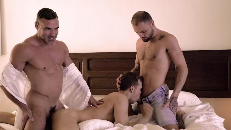 Max Arion, Manuel Skye, Jeffrey Lloyd, And Ethan Chase's Cream-Pie Foursome