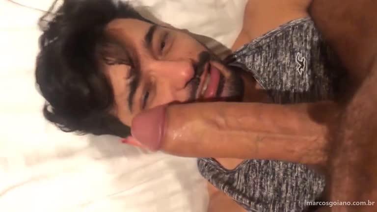 Marcos Goiano empalado por 24cm de rola