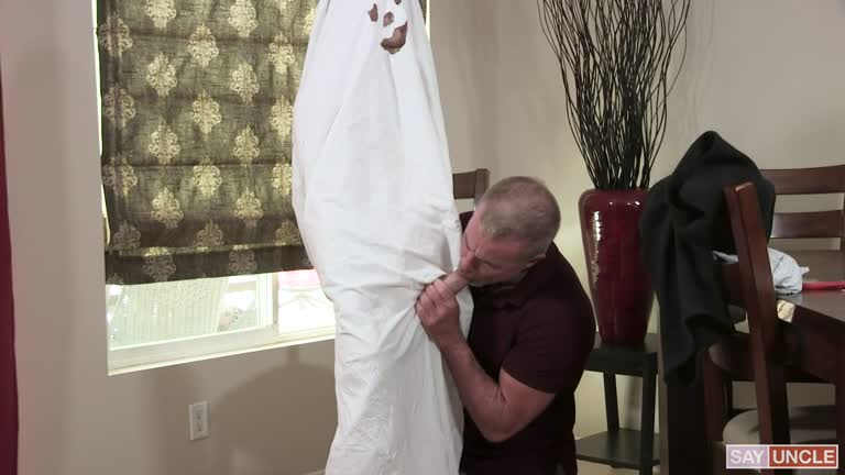 Grandpa's Ghost Costume