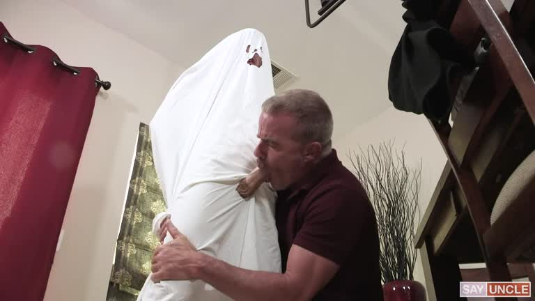 Grandpa's Ghost Costume
