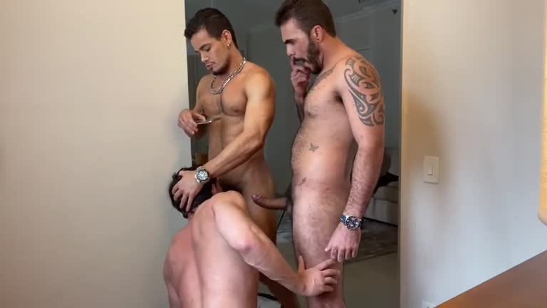 Rico Marlon - Threesome with Gil Holiver