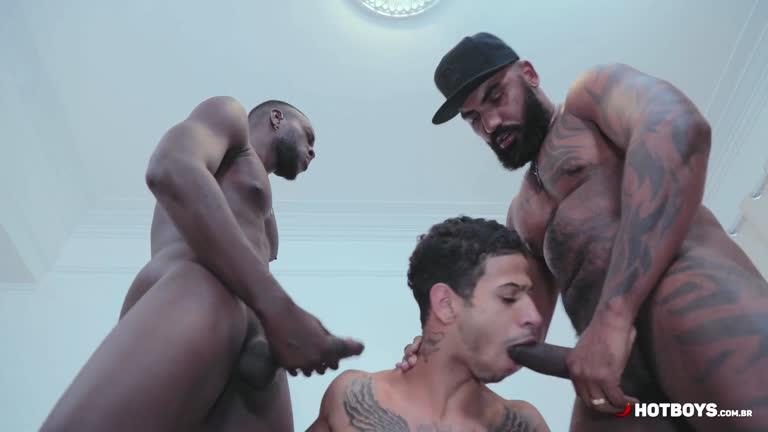 O Trio HOT 9 - Vitor Guedes, San Bolt e Michelzinho