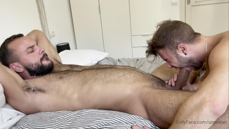 Sir Peter Quick but super hot sex with Allen King