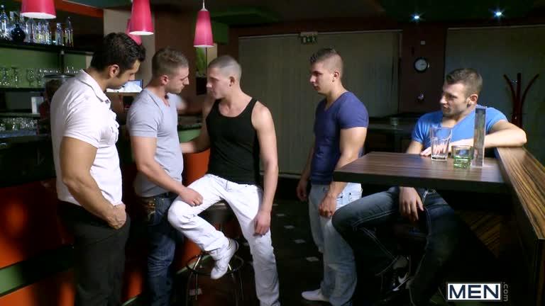 Jizz Orgy  Men In Budapest 6