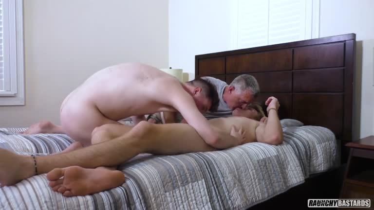 Teen Fucktoy Project - Bareback Anal Threesome - Clay, Jarvis Johnson, Tyler Blue