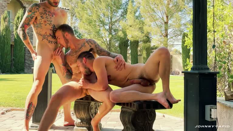Johnny Rapid – Johnny Rapid, Christian Wilde, Johnny Hill – Dirty-Talking Double