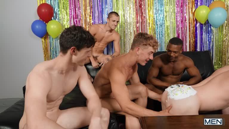 MEN - Birthday Cake - Michael Boston & Felix Fox