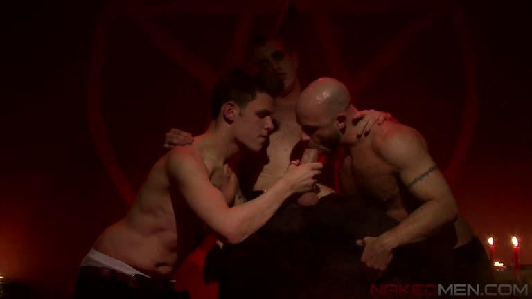 Satan's Slaves Matt Hughes, Ben Statham Robbie Rivers UK Naked Men