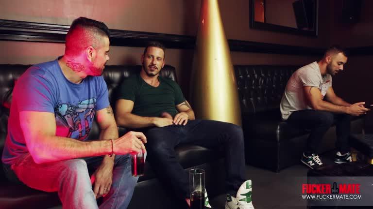 Antonio Miracle, Mario Domenech and Xavi Duran