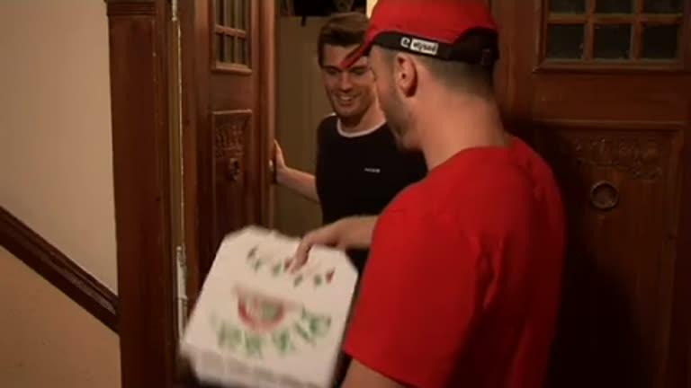 Pizza sabor de porra