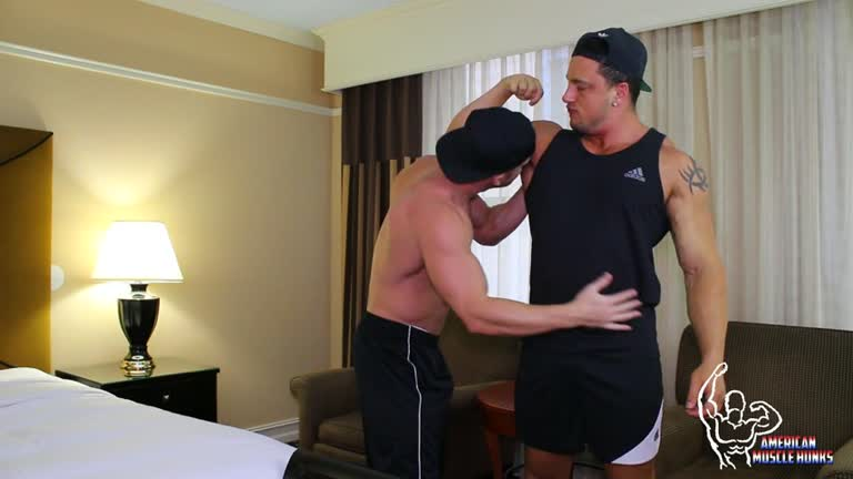 AmericanMuscleHunks - Joey D & Johnny V