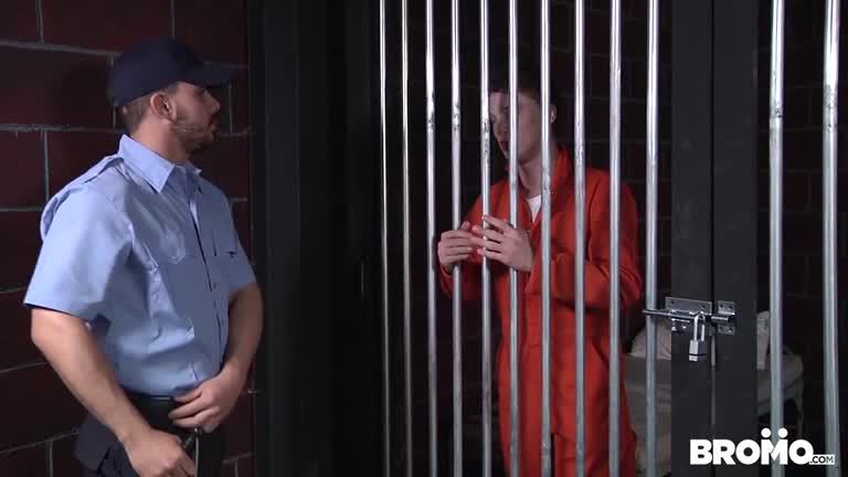 Barebacked In Prison Part 2 – Donny Forza & Eli Hunter
