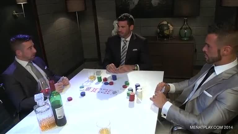 Jogando Poker (Scott Hunter, Denis Vega e Billy Santoro)