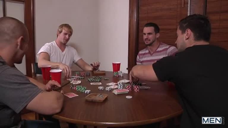 5 Delícias na suruba (Tino Cortez., Adam Bryant, Aspen, Cameron Foster e Phenix Saint)