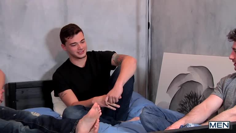 Stepfather's Secret Part 4 – Dirk Caber, Johnny Rapid, Scott Harbor, Trevor Spade