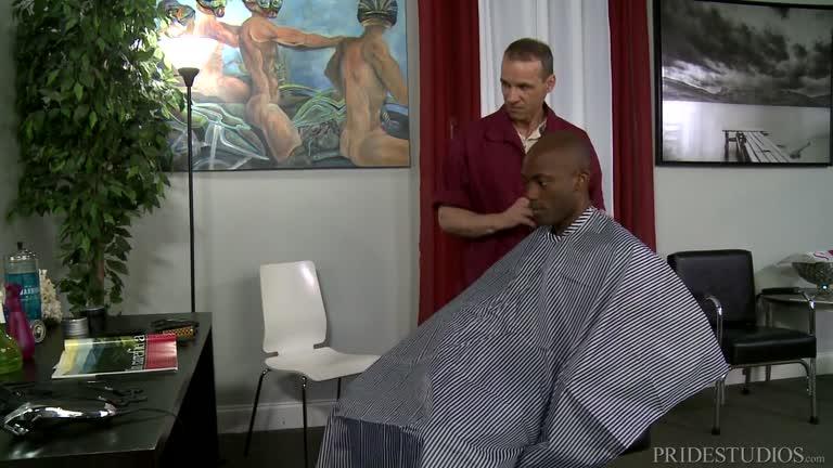 Barber Shop Sex Part 1 – Osiris Blade & Rodney Steele