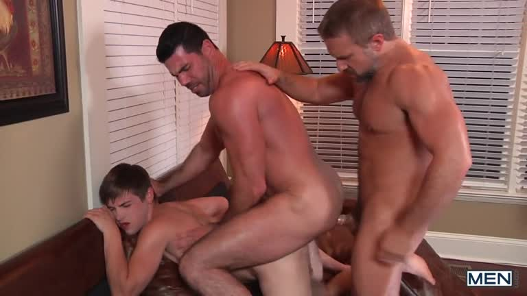 Houseboy Part 2 – Billy Santoro, Dirk Caber, Johnny Rapid