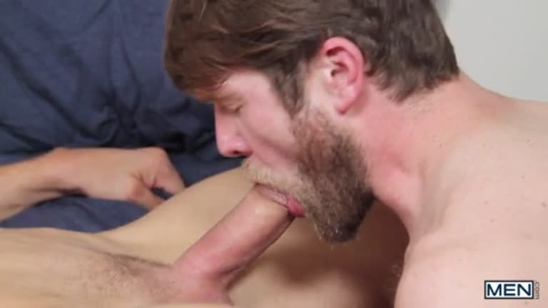 Colby Keller fazendo troca-troca com JJ Knight