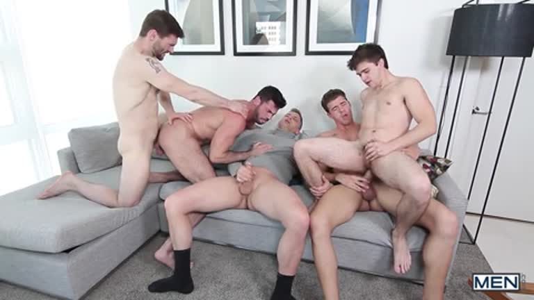 5 Delísias do pornô (Will Braun, Billy Santoro, Dennis West, JJ Knight e Brenden Cage)