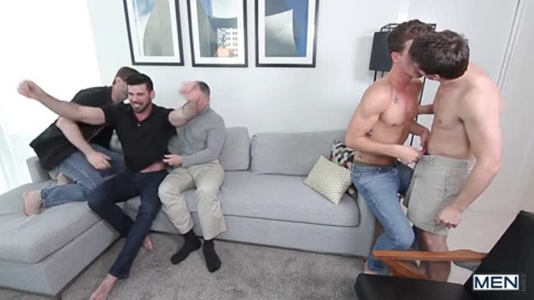 5 Delísias do pornô (Will Braun, Billy Santoro, Dennis West, JJ Knight e Brenden Cage)